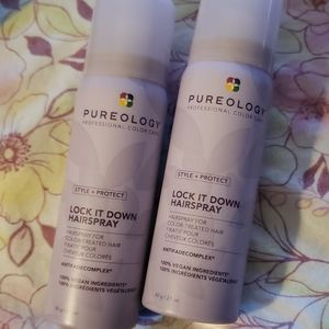 PUREOLOGY STYLE & PROTECT LOCK IT DOWN HAIRSPRAY.
